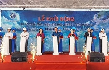 Construction of over 5.2-trillion-VND wind farms begins in Bac Lieu