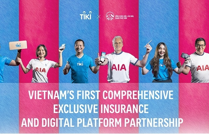 Tiki and AIA announce Vietnam's first comprehensive digital and insurance platform