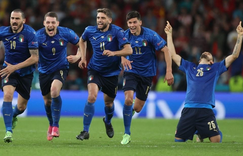 Italy beat Spain on penalties in epic Euro 2020 semi-final