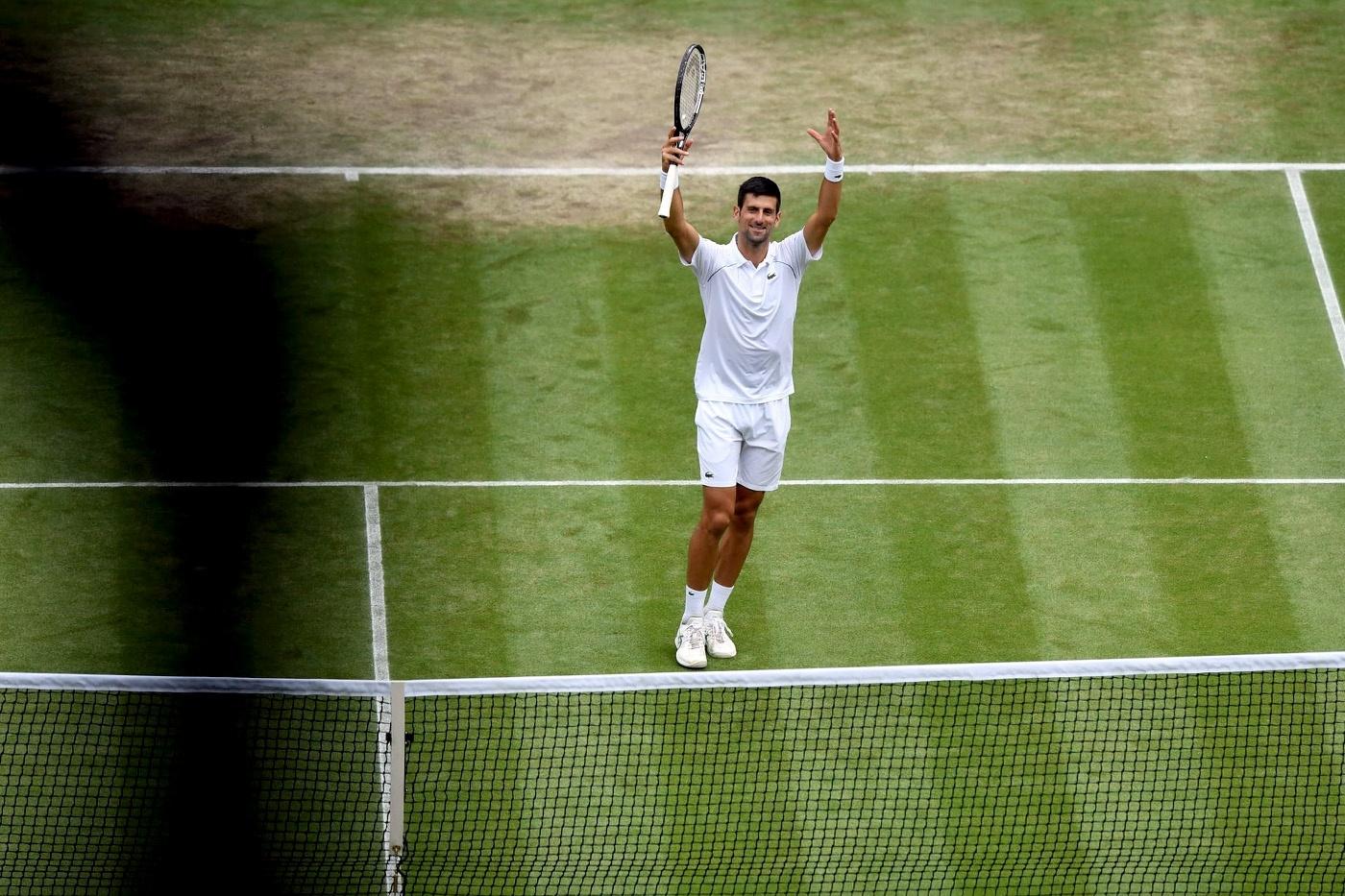 Djokovic eyes 20th Slam against heavyweight Berrettini in Wimbledon final