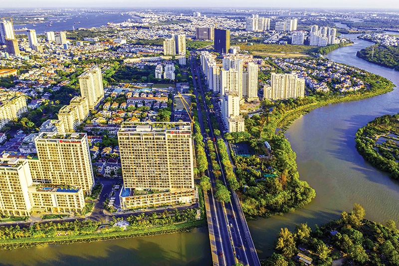 Property prices in Ho Chi Minh City continue to rise even amid the pandemic, Photo: Le Toan