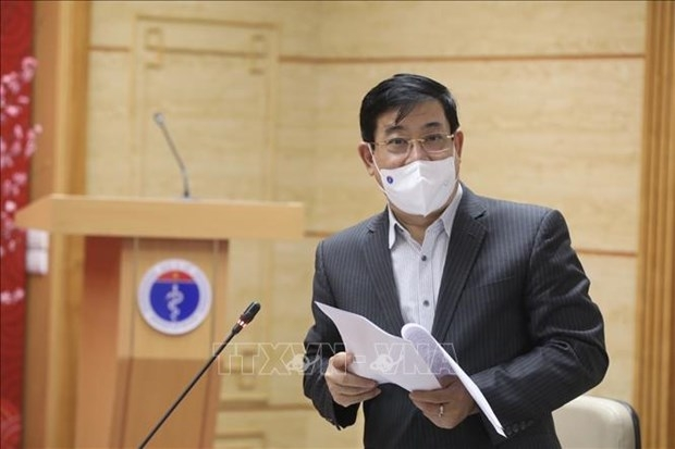 Assoc. Prof. Dr. Luong Ngoc Khue, Director of the Health Ministry's Department for Medical Examination and Treatment (Photo: VNA)