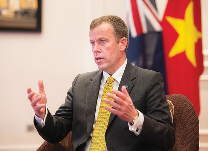 Australia's Minister for Trade, Tourism, and Investment Dan Tehan