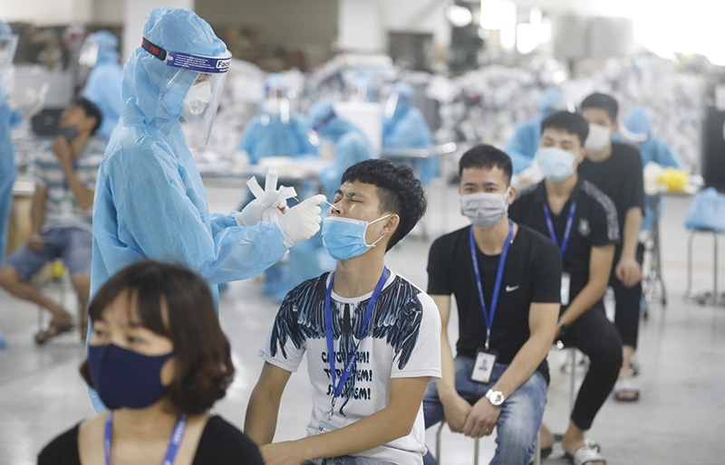 Vaccination drive aspires to put end to health crisis