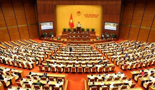 15th National Assembly's first session (Photo: VNA)