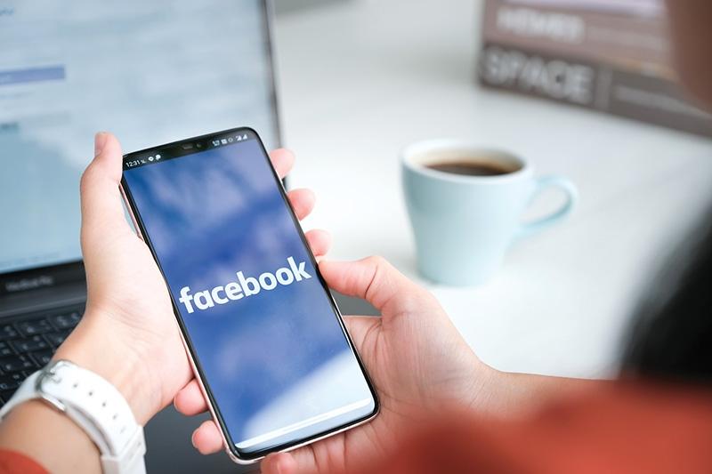 Social network advert spending in 2020 in Vietnam came to $58 million, Photo: Shutterstock