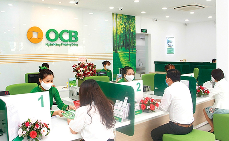 OCB's pre-tax profit saw a rise by over 42 per cent in the first half of the year, compared to 2020, Photo Le Toan