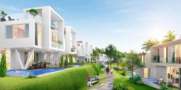 Perspective of Waikiki Villa at NovaWorld Phan Thiet (Binh Thuan)