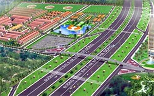 Hanoi road is to be cast in stone