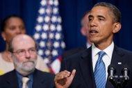 US economy creates 163,000 jobs, shielding Obama