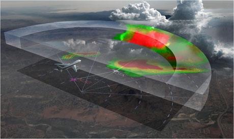 Honeywell's new technology helps pilots avoid hail and lightning