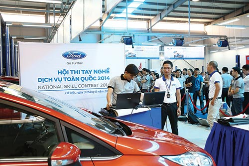 ford teams compete in technical face off showdown
