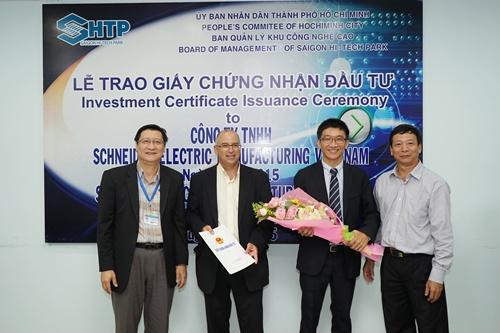 Schneider Electric Viet Nam to build a $45 million plant in HCMC