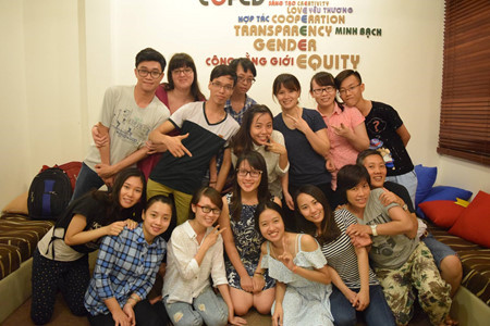 Young Vietnamese activists support gender equality