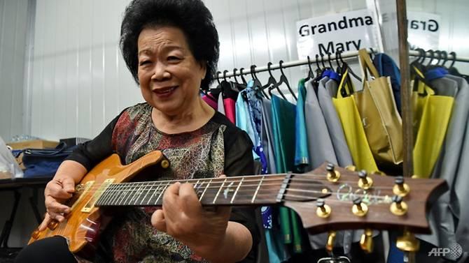 Guitar-slinging Grandma Mary shreds stereotypes