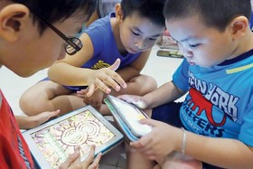 Excessive smartphone use by kids can cause tics