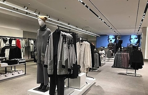 Garment companies selling better abroad