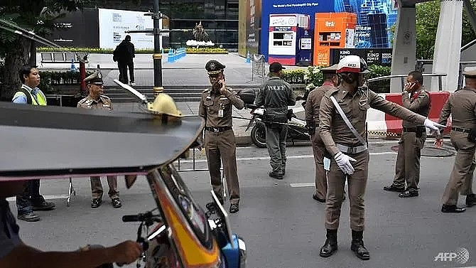 two suspects arrested after bomb blasts in bangkok during asean summit