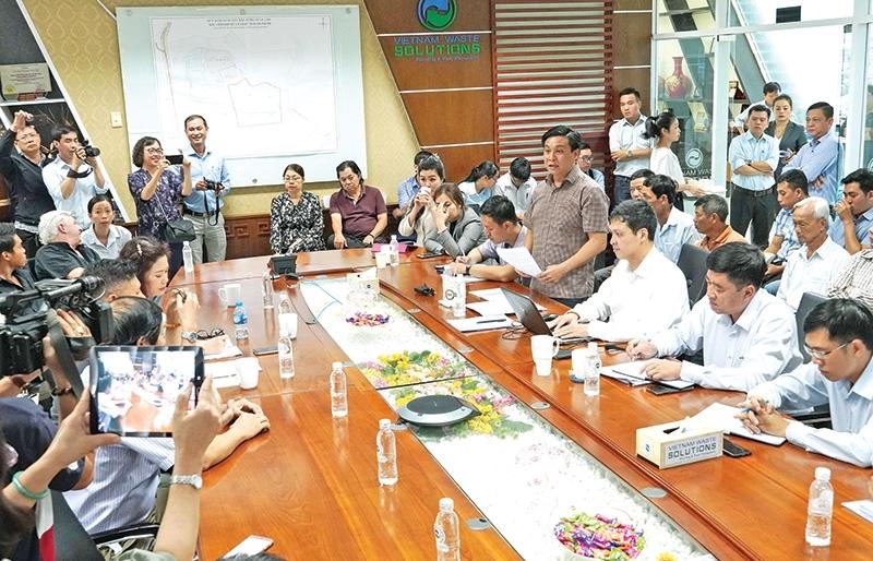 Tech advances discussed for city waste treatment complex