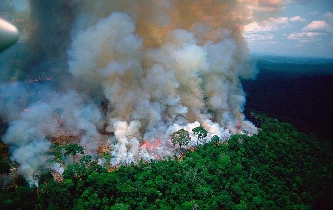 un france raise concern over amazon wildfires crisis