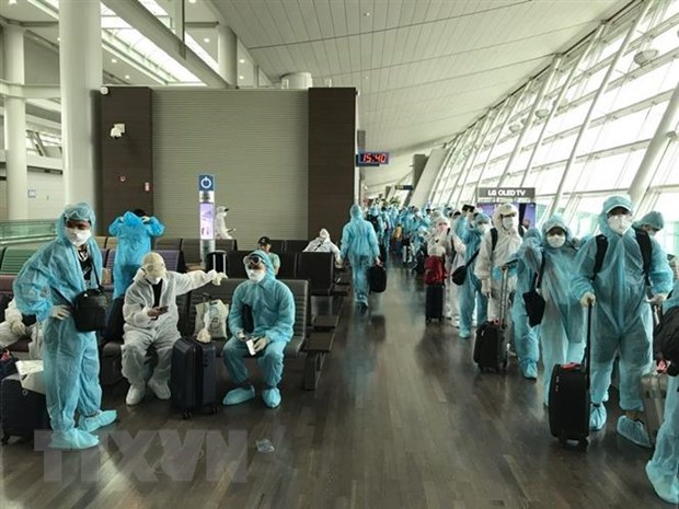 300 Vietnamese citizens brought home from Canada, RoK