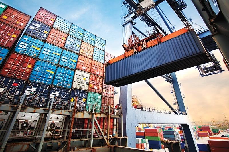 1504p10 trade upswing pressures local ports