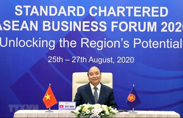 PM attends Standard Chartered-ASEAN Business Forum 2020