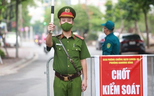 Hanoi asks local residents not to move outside during social distancing period
