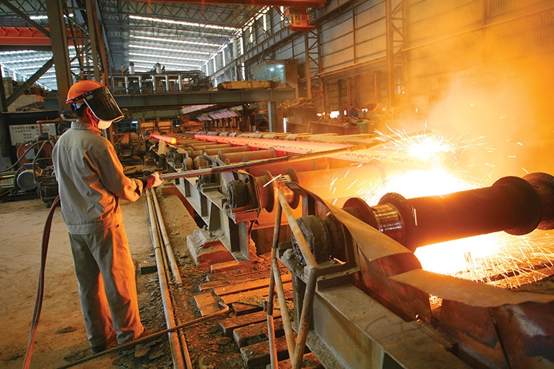 Delivery delays are one reason why there has been a sharp increase in steel prices in recent times, Photo: Le Toan