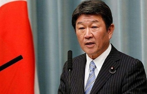 Japanese minister stresses importance of navigation freedom in East Sea