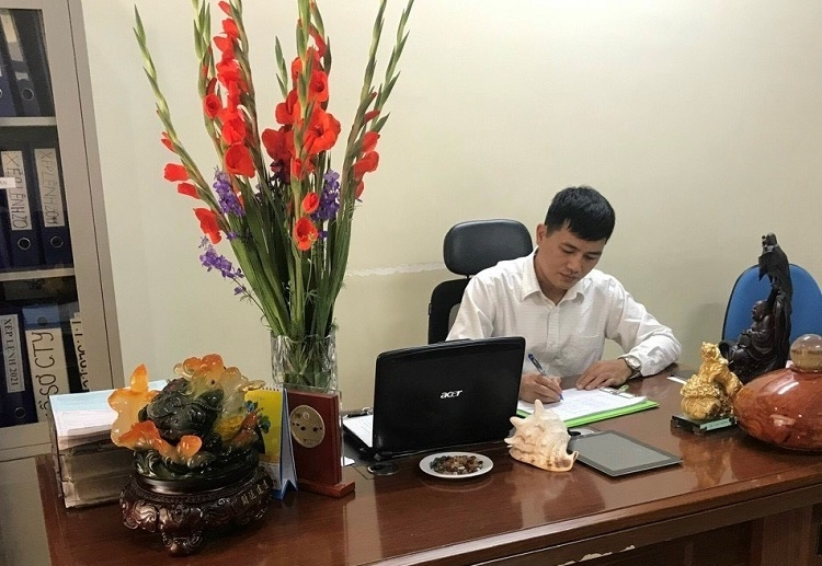 Xuan Huy Dao, Director of Huy Hoang Transport Service and Business Co., Ltd