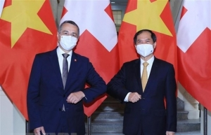 Vietnam hopes to receive more Swiss assistance in COVID-19 vaccine access: FM