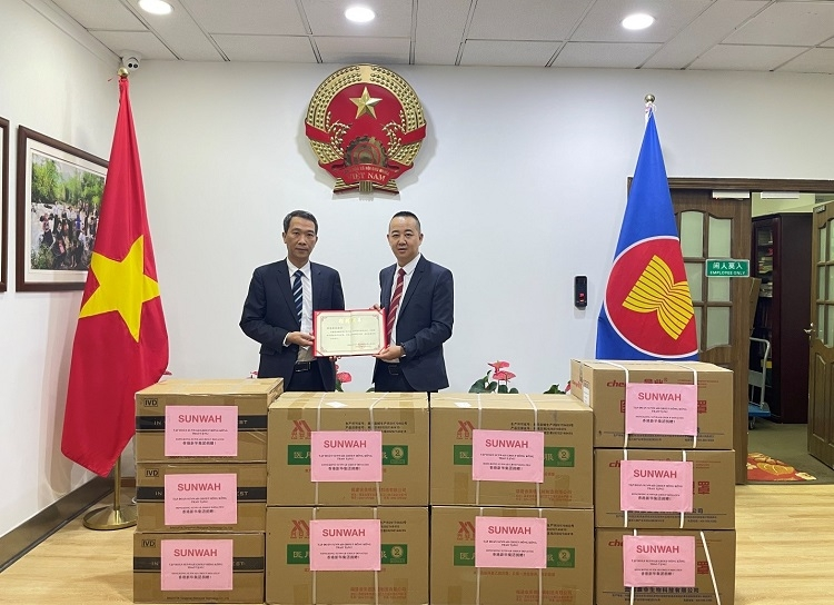 Sunwah Group donates $200,000 of anti-epidemic materials to northern provinces