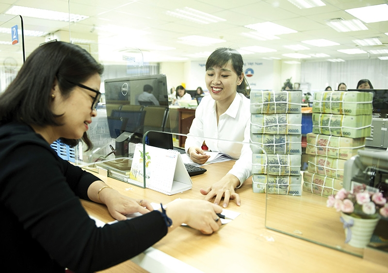 Among the big four, Agribank and BIDV are the leaders in credit market share, Photo: Le Toan