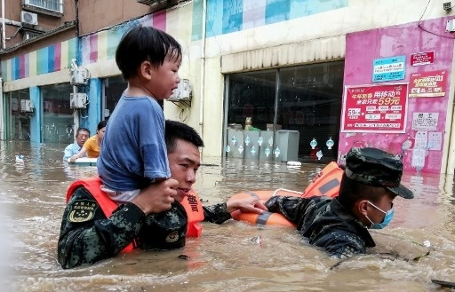 21 dead as torrential rainfall batters central China
