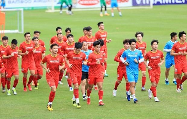 The Vietnamese team (Source: VFF)