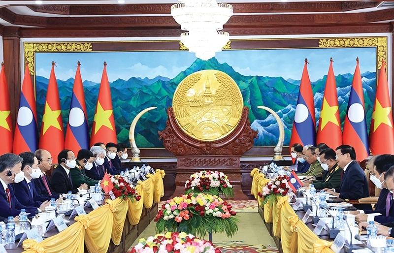 Vietnam and Laos build on friendship