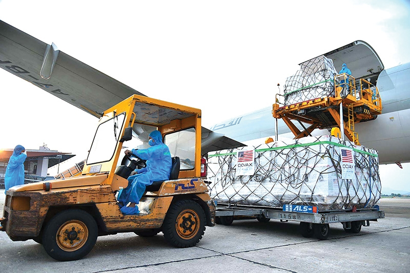Vietnam received a package of Moderna vaccines from the US via the COVAX mechanism on July 25
