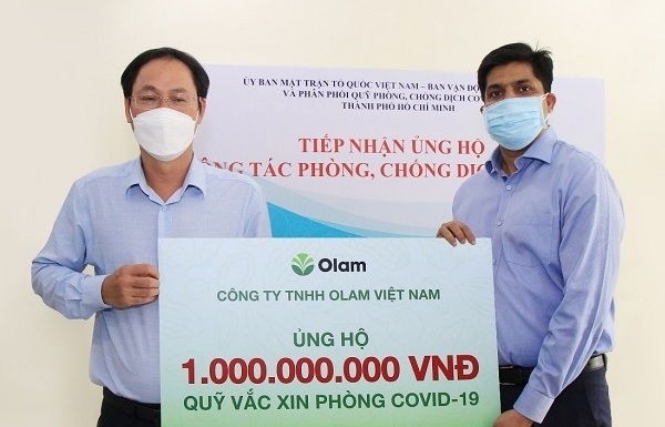 Olam Vietnam supports Vietnamese government in COVID-19 fight