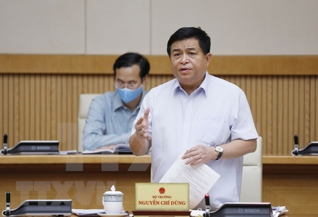 Minister of Planning and Investment Nguyen Chi Dung. (Photo: VNA)