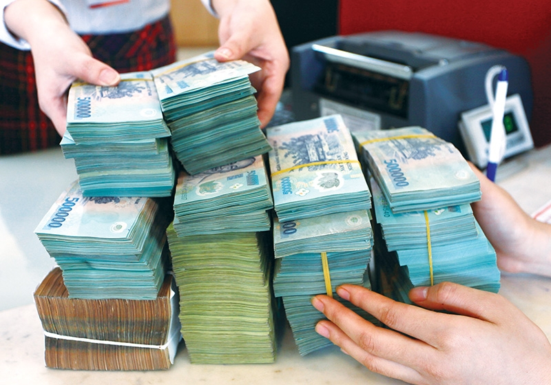 Vietnam's public debt in GDP stands at around 45.6 per cent, Photo Le Toan
