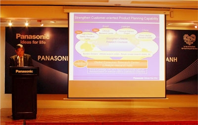 Panasonic announced $84 million strategic business expansion in Vietnam
