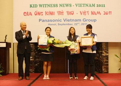 Panasonic Vietnam's KWN 2011 awarded Hanoi schools