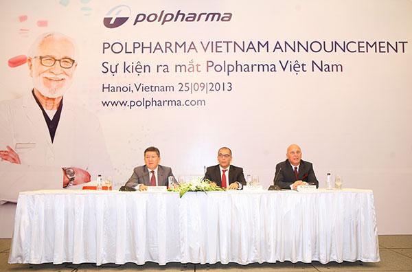 Top Polish pharmaceutical firm selects Vietnam for regional strategic market development