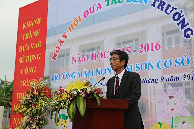Canon Vietnam sponsors building of Nam Son kindergarten