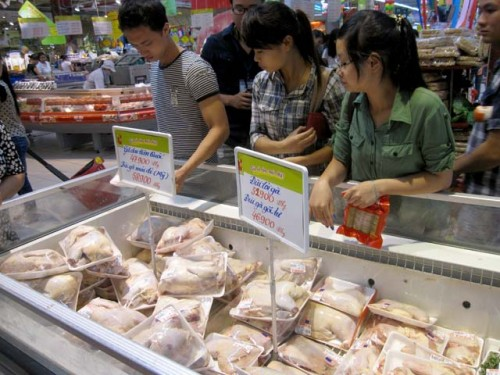 No dumped chicken imported to VN from US, Customs says