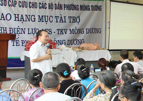 AES-VCM supports health care programmes in Vietnam
