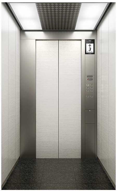 hitachi launches new machine room less elevators