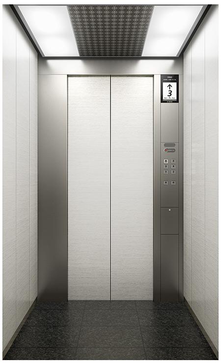 Hitachi launches new machine room-less elevators