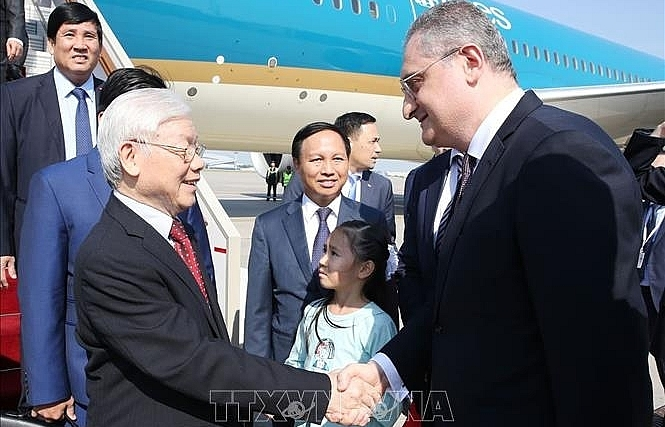 Vietnam will further cement its relations with Russia